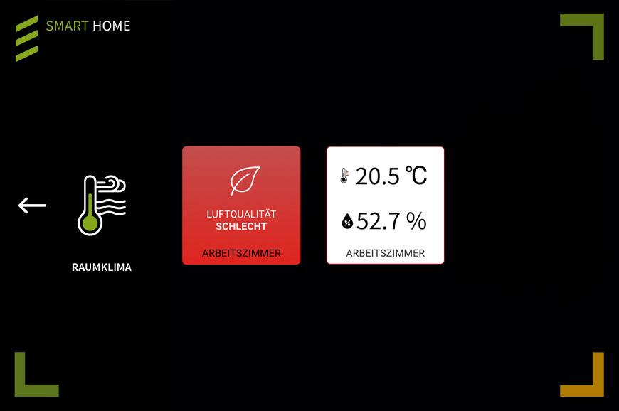 Projekte Luftgütequalität rot